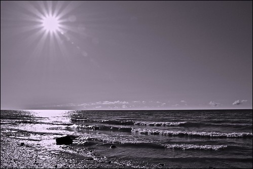 Lake Ontario Sunburst