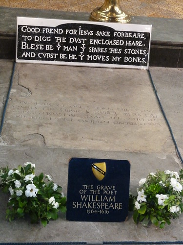 Grave of William Shakespeare, Stratford-upon-Avon