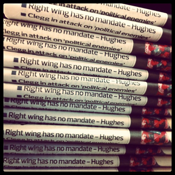 Right wing has no mandate