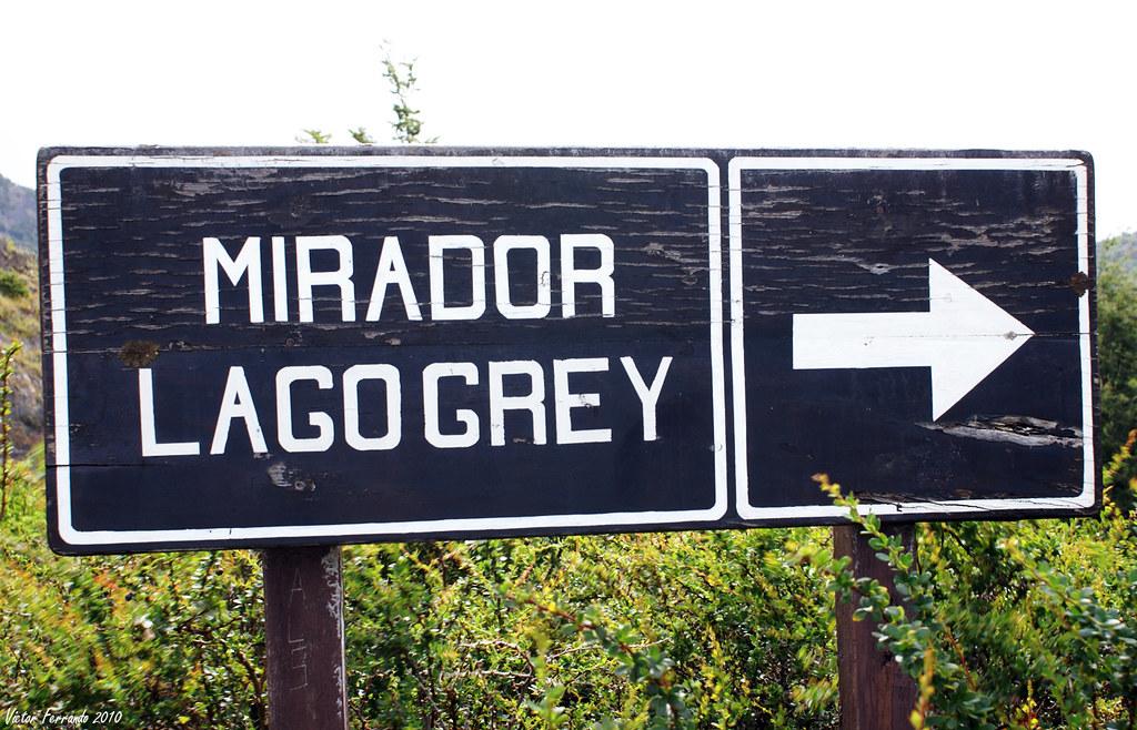 Mirador Lago Grey - Patagonia Chilena - Chile