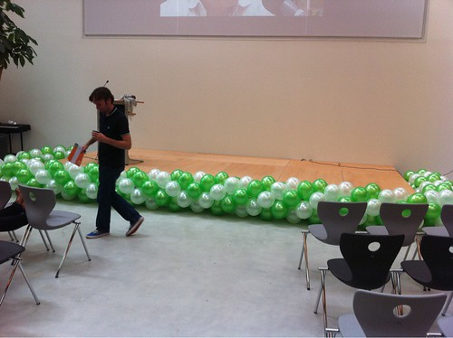 Ballonslinger Opening Melanchthon Mathenesse School Rotterdam