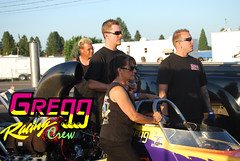 Robbie, Stan & Jake Gregg Racing Crew