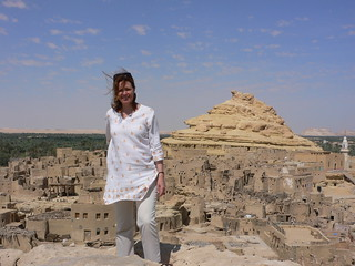 The Shali in Siwa in Egypt