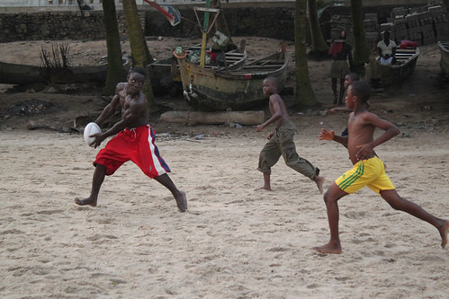 Rugby on the Beach, Cape Coast, Ghana