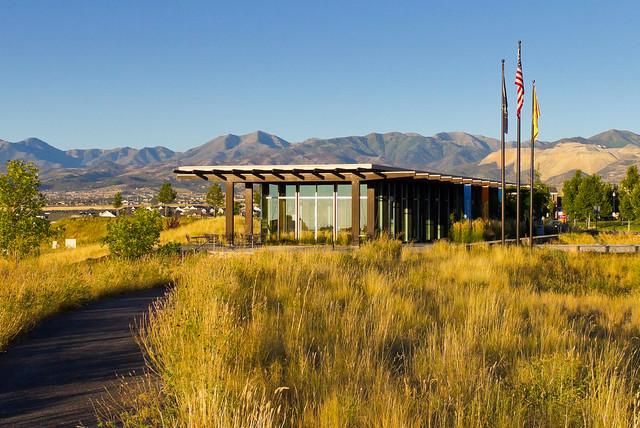 The glass house in daybreak utah flickr photo sharing for Utah house