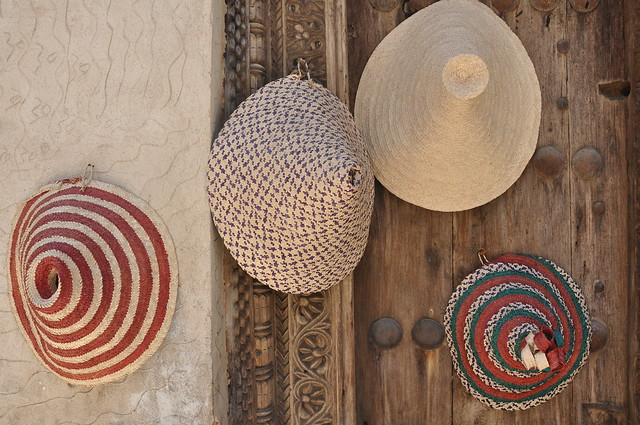 Colourful conical hats
