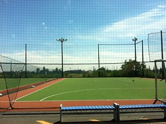 tennis court(0.0), tennis(0.0), baseball park(0.0), baseball field(0.0), stadium(0.0), sport venue(1.0), sports(1.0), soccer-specific stadium(1.0), net(1.0),