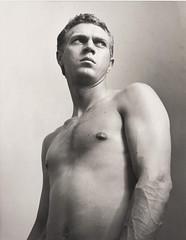 Steve McQueen Torso, 1956, by Roy Schatt