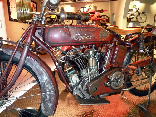Indian at the Finnish Motorcycle Museum in Lahti