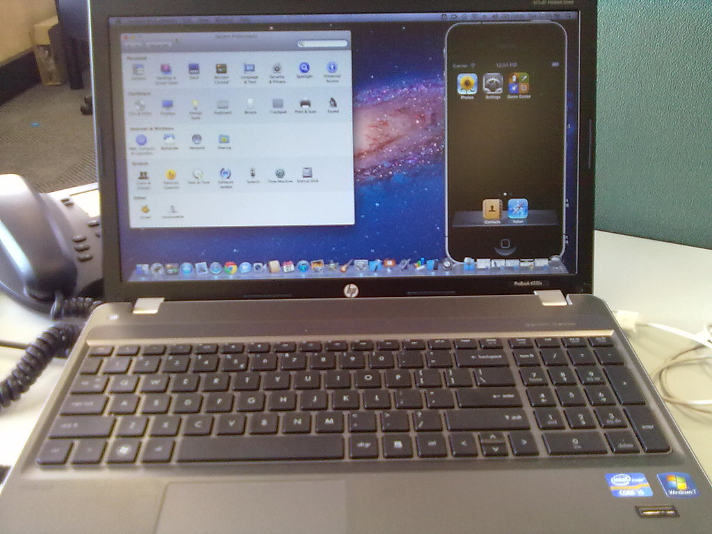 The Hackintosh is Mobile | HP Probook 4530S /w OS X Lion 10