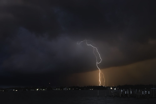 longexposure storm night clouds photography nikon photographer waterfront strike lightning severe tstorm neuseriver newbern uprootedphotographer