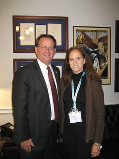 Gary Peters-MI with constituent C. Alycia Hutchisson