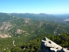 Pointe du Castellucciu di A Tia : le sommet et vue vers l'Est