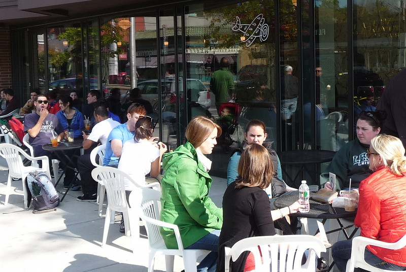 Agassiz - Hi-Rise Cafe on Mass. Ave, Cambridge, MA