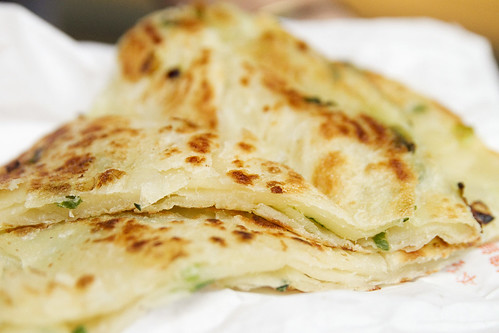 Scallion pancake time