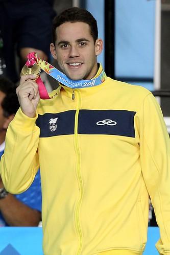 Thiago Pereira - Atleta brasileiro de natação