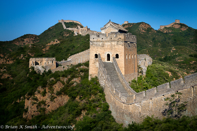 The Great Wall of China at Jinshanling, Hebei