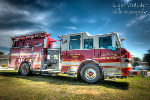 Cape Canaveral Fire Department Engine 53