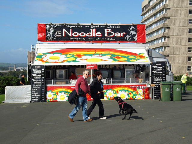 Noodle Bar Plymouth Devon England By