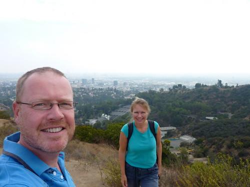 LA - vanaf Mulholland Drive - 1