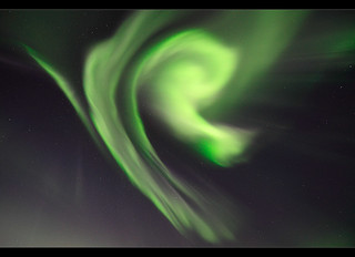 Rays of Particles - Aurora over Iceland