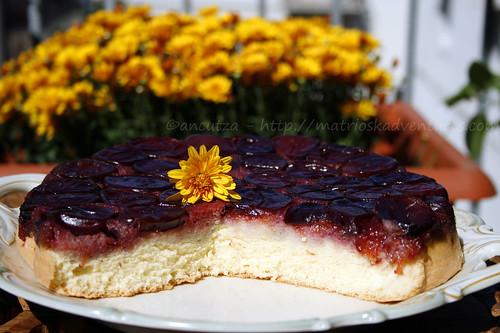 immagine torta rovesciata susine prugne