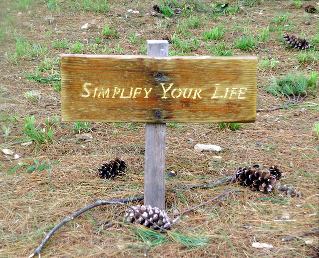 Simplify Your Life from Flickr via Wylio