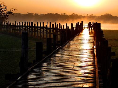 burma myanmar birma amarapura birmanie ubeinsbridge