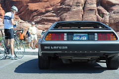 Gumby the DeLorean, Red Rock Canyon