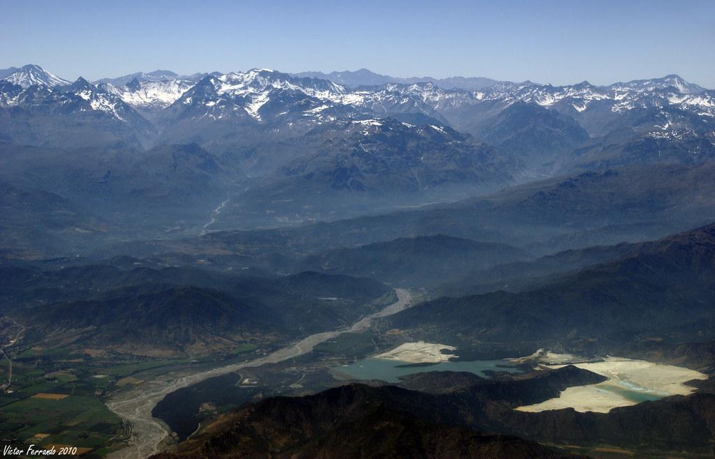 Chile desde un avión