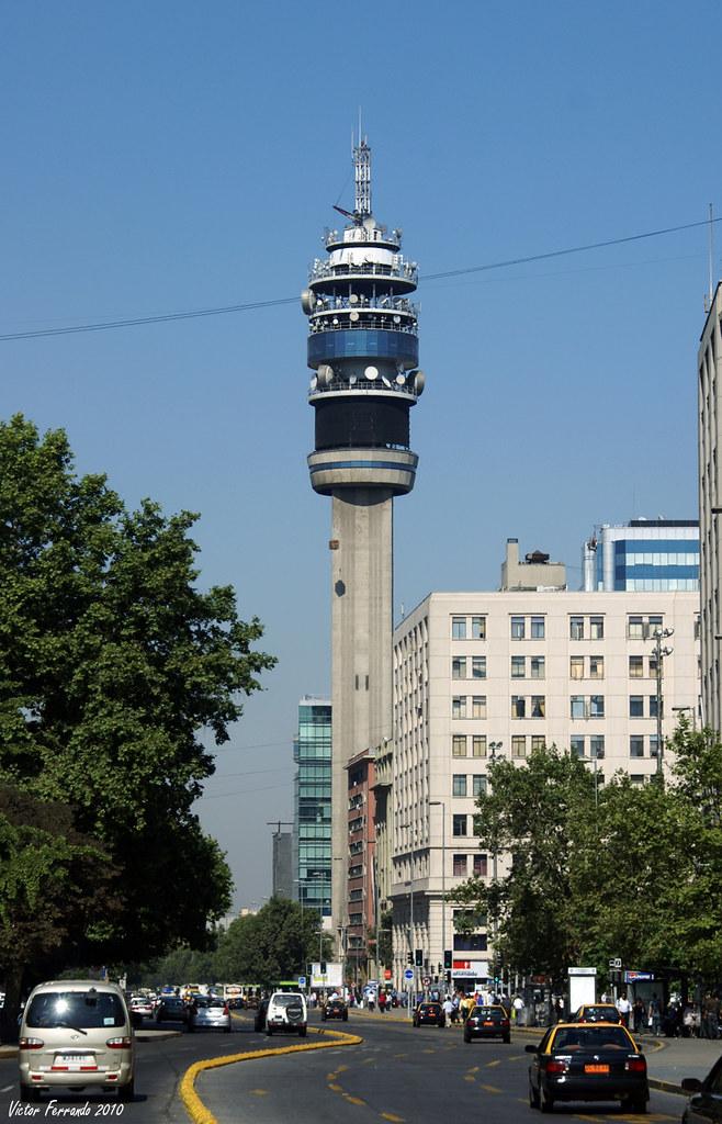 Torre Entel - Santiago de Chile
