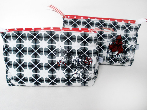 dark fairytales cosmetic bags