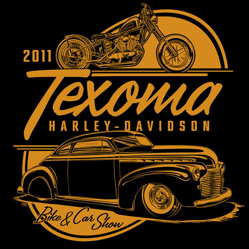 Texoma H-D T-Shirt Design