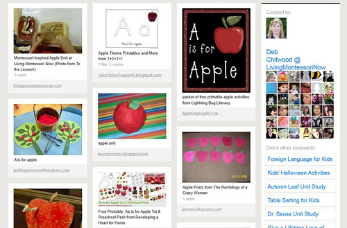 Pinterest - Apple Unit Study