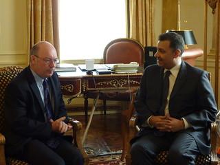Meeting Deputy Foreign Minister of Saudi Arabia