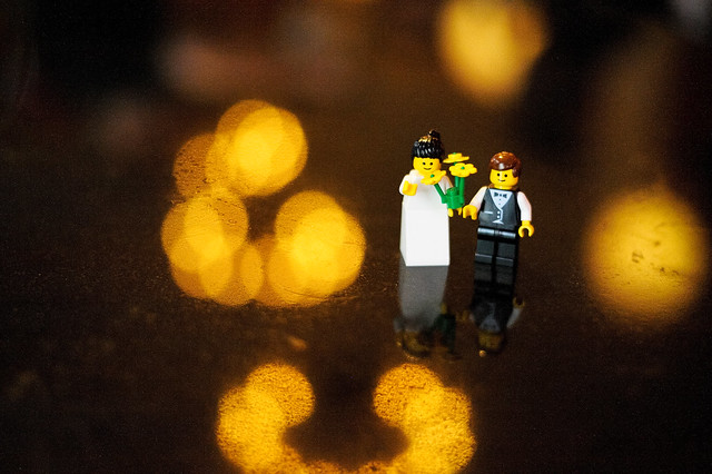 even Lego people get married (photo by Don)