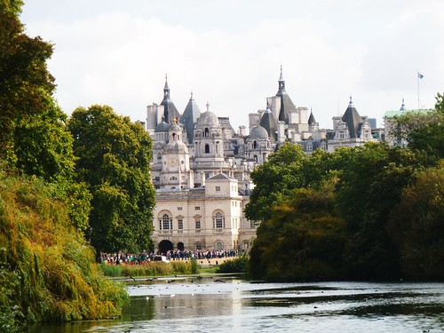 View from St. James's Park, London, England