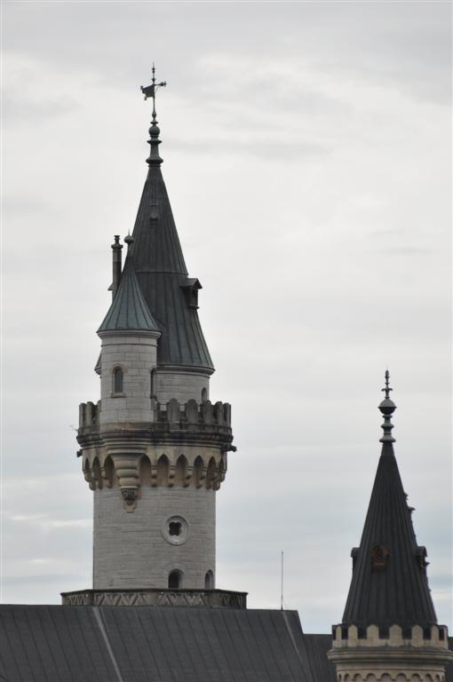 Torre principal del Castillo schwangau, la villa de los castillos reales de ensueño - 6178445978 2aa7aac732 o - Schwangau, La villa de los Castillos Reales de ensueño