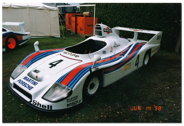 1978 Porsche 936/78 Sportscar. Goodwood Festival of Speed 1998. by Antsphoto