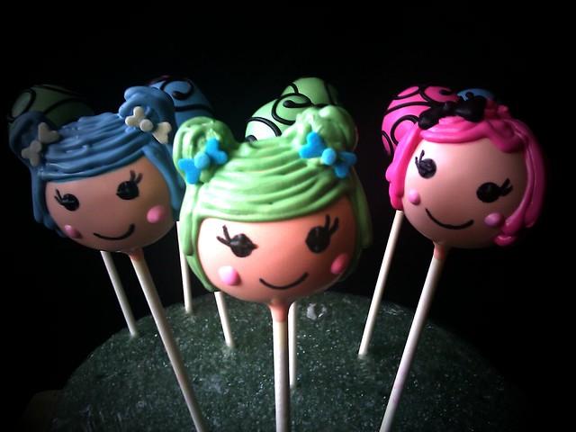 Lalaloopsy Cake Pops  Flickr - Photo Sharing!