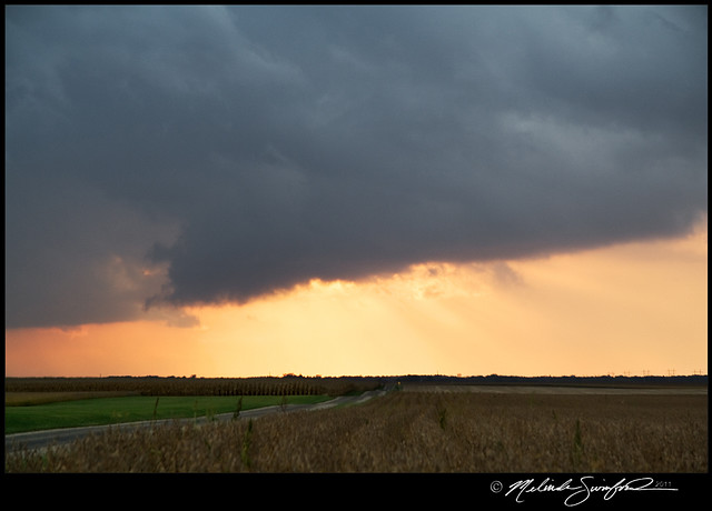 09242011 shelf cloud at sunset a beautiful backlit shelf c flickr photo sharing - Beautiful photoshelves ...