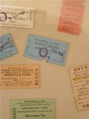 Pretty tickets