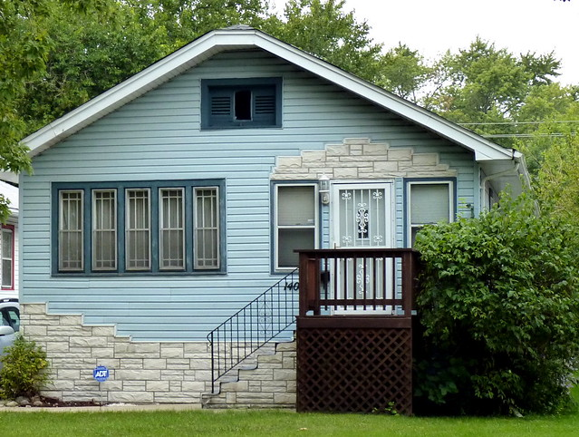 blue house with stone trim flickr photo sharing