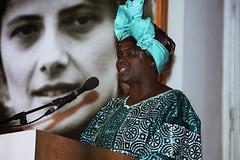 Wangari Maathai bei der Petra-Kelly-Preisverleihung 2004