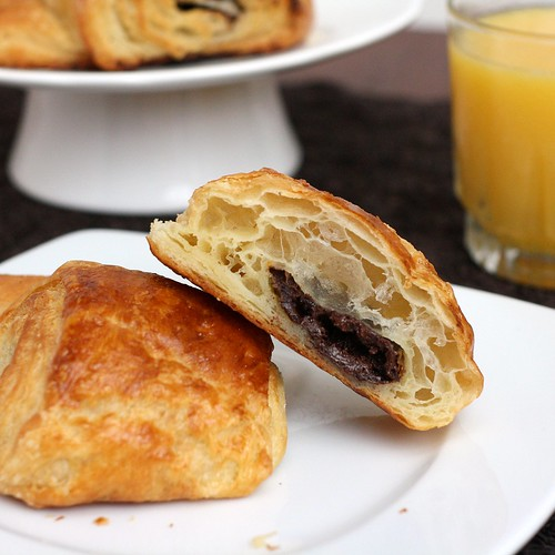 Step-by-Step Chocolate Croissants