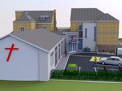 Sheffield Jesus Centre: architect's impression
