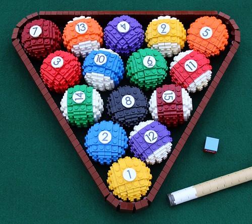LEGO Billiards