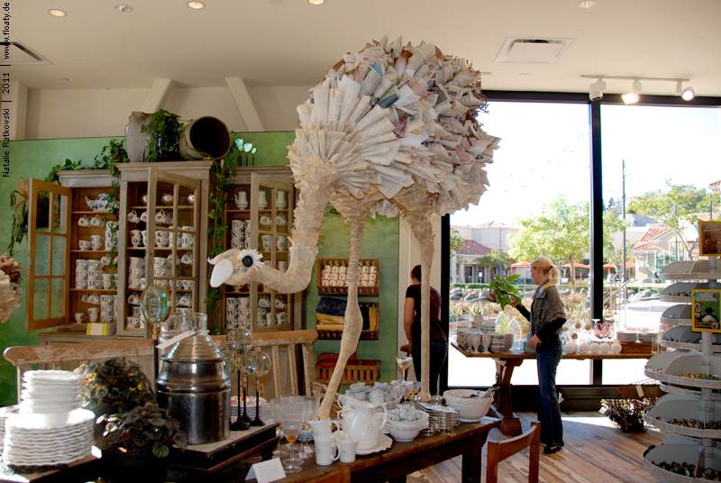 """Anthropologie"" store - a boutique near by San Francisco"
