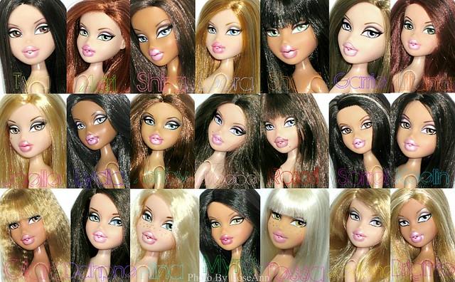 Bratz 2010-2011 Characters.