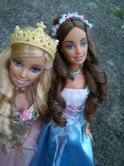 My Barbie As The Princess And The Pauper Anneliese And Princess Anneliese And Erika From